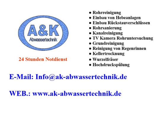 A & K Abwassertechnik Mannheim, Sonnenstraße 47