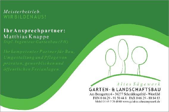 garten- und landschaftsbau altes sägewerk in wüstfeld gemeinde, Garten Ideen