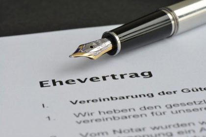 Ehevertrag